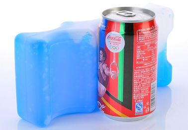 Promotional Portable Reusable Cold Gel Packs HDPE Plasitc For Lunch Box
